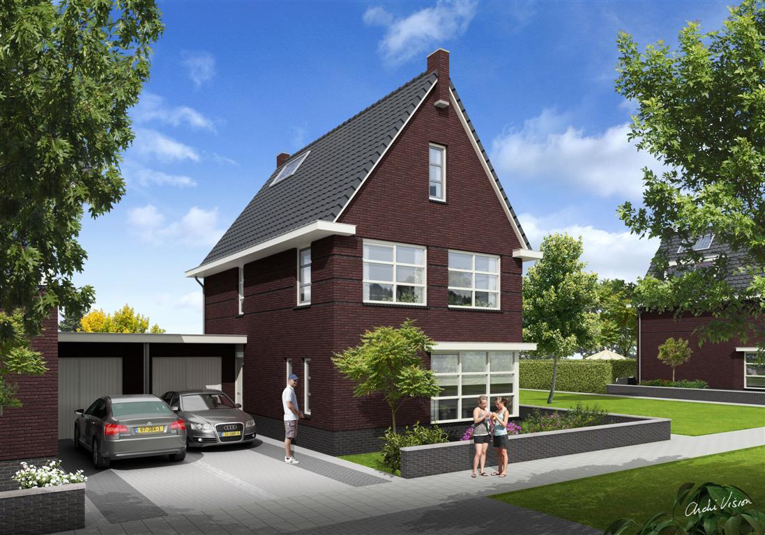 Buitenhoek vrijstaande woningen alex makelaars kampen for Nieuwbouw vrijstaande woning